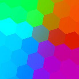 picture of peppy  - Hexagonal color spectrum - JPG