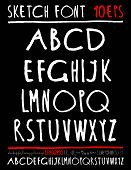 picture of handwriting  - English handwriting alphabet - JPG