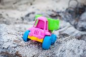 stock photo of ashes  - Toy dump - JPG