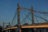 ������, ������: Albert Bridge in the evning