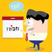 stock photo of friday  - thanks god it - JPG