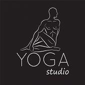 image of yoga  - Logo for yoga studio - JPG