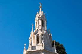 stock photo of calvary  - Detail of the Calvary Church - JPG
