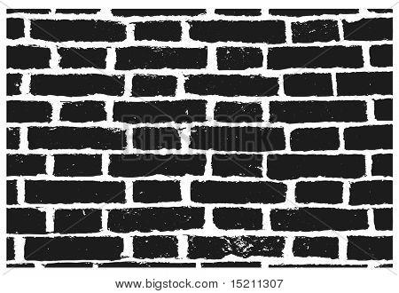 vector grunge black wall