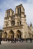 stock photo of notre dame  - notre dame - JPG