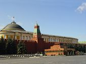 picture of embalming  - lenin mausoleum and kremlin - JPG