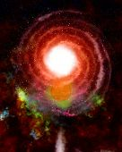 foto of outer core  - Spiral galaxy - JPG