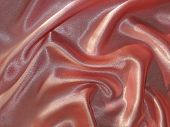 Draped Pink (peachy) Satin Background