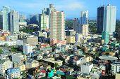 foto of luzon  - Aerial view on Makati  - JPG