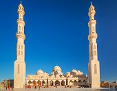 image of stratus  - Beautiful architecture of Mosque in Hurghada - JPG