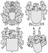 Set Of Aristocratic Emblems