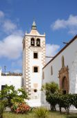 Church In Historical Town Betancuria, Fuerteventura poster