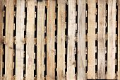 stock photo of wooden pallet  - The Wooden texture of pallets for background - JPG
