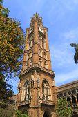 stock photo of british bombay  - The University of Mumbai is a state university situated in Maharashtra state of India - JPG