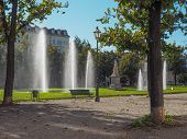 picture of turin  - The Giardini Cavour public park in Turin Italy