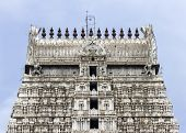 stock photo of shiva  - Annamalaiyar Temple in Thiruvannamalai is dedicated to Lord Shiva - JPG
