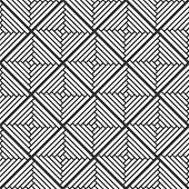 stock photo of swastika  - Abstract Retro Geometric seamless pattern - JPG