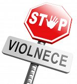 image of stop fighting  - no violence or aggression stop violent or aggressive actions no war or fights prevention - JPG