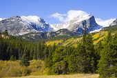 stock photo of rocky-mountains  - Rocky Mountain National Park in Colorado - JPG