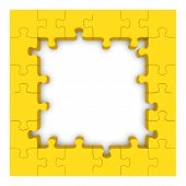 picture of jigsaw  - Frame made  - JPG