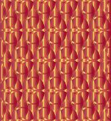 picture of triquetra  - Abstract red and gold celtic knot triquetra background - JPG