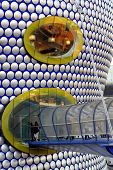 Entrance to shopping mall in  Birmingham in the midlands of England. poster