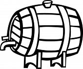 stock photo of mezcal  - wine barrel - JPG