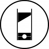 picture of guillotine  - guillotine symbol - JPG