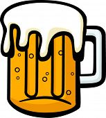 stock photo of beer mug  - beer mug - JPG