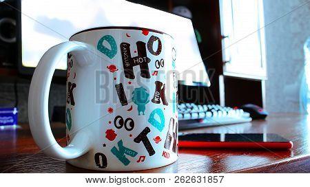 Lunch Break Cup Of Coffee