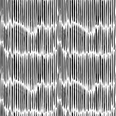 Pattern Seamless Vector With Careless Strokes As Vertical Dashed Lines. Abstract Background Using Br poster