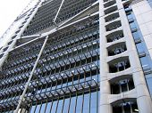 stock photo of hsbc  - Architecture HSBC building - JPG