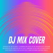 Music Cover With Vibrant Waveform As A Vinyl Grooves poster