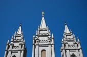 The Salt Lake Temple is the largest (of more than 120 around the world) and best-known temple of The
