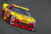 LOUDON, NH - SEP 18:  Kevin Harvick brings his Pennzoil Shell through the turns during practice for