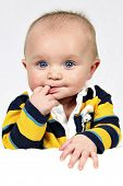 image of baby face  - Little Cutie taken closeup - JPG
