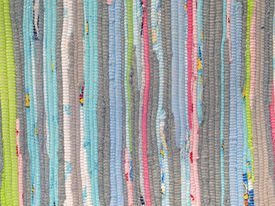 stock photo of scrappy  - multicolored handmade patchwork background - JPG