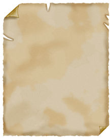stock photo of treasure map  - This is old paper like papyrus - JPG