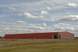 foto of building exterior  - Large New Commercial Building in an Industrial Park - JPG