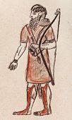 foto of babylon  - historical costume  - JPG