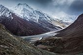 stock photo of himachal  - Severe mountains  - JPG