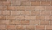 image of cinder block  - Full Frame Cinder Block Brick Wall with Rough Texture - JPG