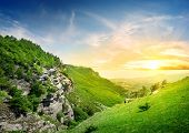 image of crimea  - Mountains in the valley of ghosts - JPG