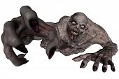 stock photo of undead  - 3D rendered illustration of undead creature on white background isloated - JPG