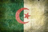 stock photo of algiers  - Flag of Algeria - JPG