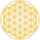 picture of merkaba  - Geometrical figure - JPG