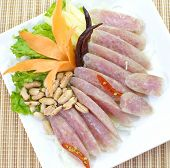 stock photo of pork  - Sour pork - JPG
