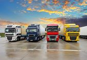 foto of four  - Four Trucks  - JPG