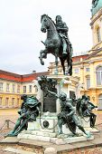 Statue Of Frederick William I Of Prussia In Berlin poster