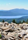 pic of ural mountains  - Photo of a Mountainous lake Zyuratkul in Russia - JPG